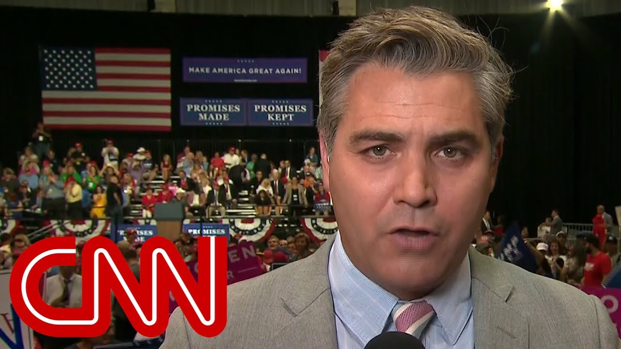 CNN reporter Jim Acosta heckled at Trump rally
