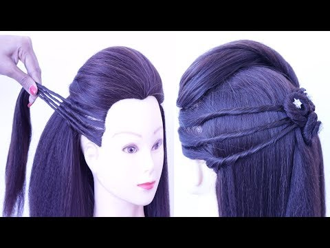 Short hair styles - valentine day special hairstyles  new hairstyle for girls  beautiful hairstyle  easy hairstyles