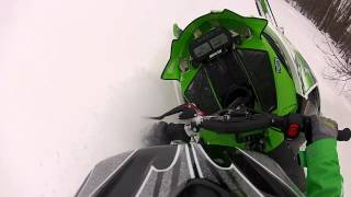 9. Arctic cat m6000 and pro rmk shreding pow!