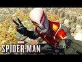 O Homem Aranha 2099 traje pico Spider Man Ps4