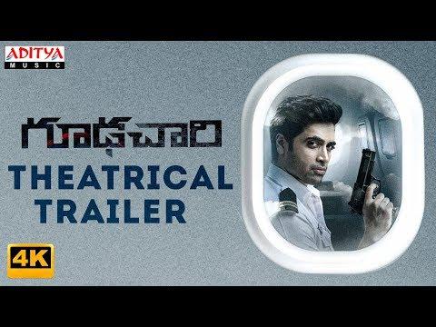 Goodachari Theatrical Trailer 4K   Goodachari Movie   Adivi Sesh, Sobhita Dhulipala