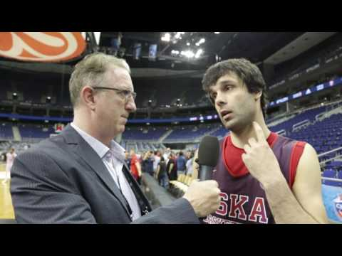 Awards Interview: Milos Teodosic, CSKA Moscow