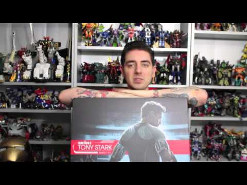 See You At Power-Con 2013 & Win A Hot Toys Tony Stark From Sideshow Collectibles!