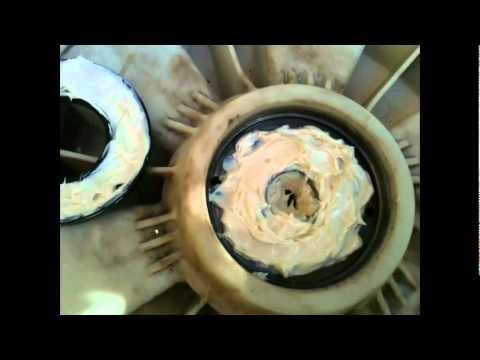 Repairing washing machine front loader – Replacing shaft ball bearings