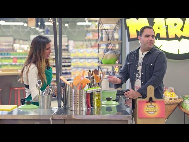 Crazy Market | الستات في المطبخ بيعملوا كل حاجة وهما بيتكلموا.. حكاية إيناس جوهر
