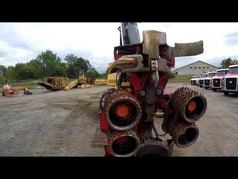 CATERPILLAR FORESTRY - FELLER BUNCHERS - TRACK 501HD equipment video V-BsSOcO9fg