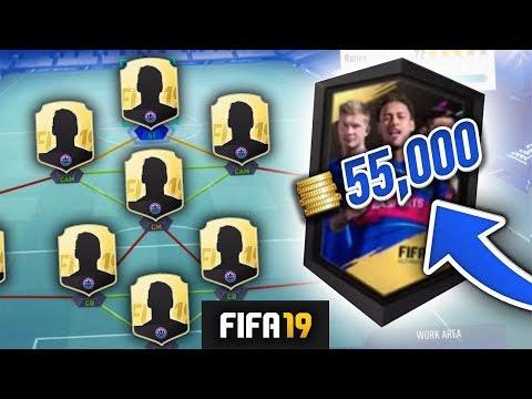 FIFA 19 HYBRID NATIONS SBC CHEAP SOLUTIONS! - FIFA 19 Ultimate Team (видео)