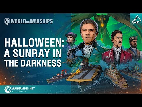 World of Warships Halloween Event - trailer
