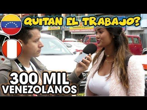 GRAN MIGRACION VENEZOLANA - Que opinan los peruanos y Venezolanos
