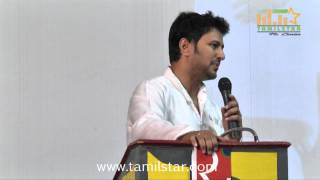 Actor Raja and Amritha Press Meet
