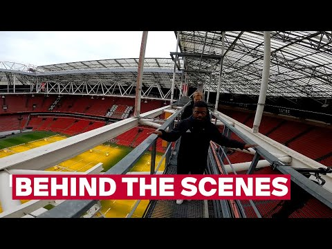 OPEN THE ROOF | David goes to the roof of the Johan Cruijff ArenA