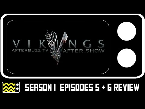 Vikings Season 1 Episodes 5 & 6 Review & After Show   AfterBuzz TV