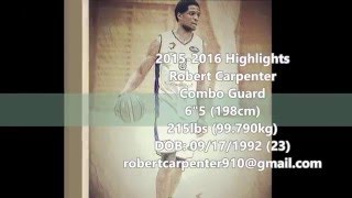 Robert Carpenter Luxembourg Highlights 2015-16'