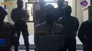 Cegah Penyebaran Covid-19, Polsek dan Koramil Kutapanjang, Gayo Lues, Aceh, Gelar Patroli Malam