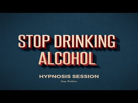 Complete Stop Drinking Alcohol Self Hypnosis Session