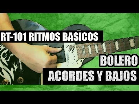 BOLERO - BASICO, ACORDES Y BAJOS Parte 1de3