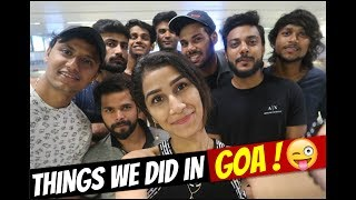 Video #GOA WHAT WE DID TWO DAYS WITH ( REAL SHIT, NAZAR BATTU ,QRT AND BOB) PART-1 MP3, 3GP, MP4, WEBM, AVI, FLV Januari 2018