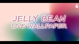 Jelly Bean Live Wallpaper YouTube video