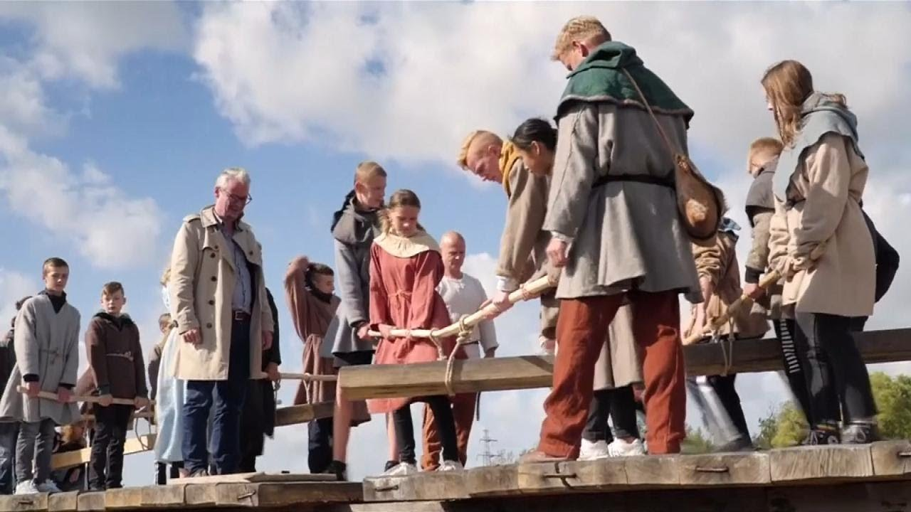 Longest Viking Bridge in the World Built in Denmark - YouTube
