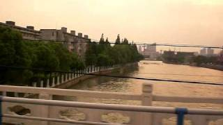 Jiaxing China  City pictures : Streets of Jiaxing, China 从白云宾馆到嘉兴大学