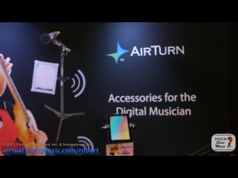 NAMM 2014 - Interview with AirTurn CEO, Hugh Sung