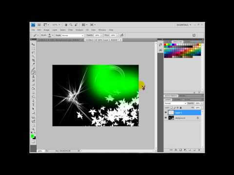How to Create an Abstract Background Photoshop