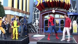 Enhanced Spider-Man ride reopening moment at Universal Orlando Islands of Adventure