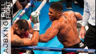 Video Full Fight | AJ Vs Eric Molina TKO MP3, 3GP, MP4, WEBM, AVI, FLV Februari 2019