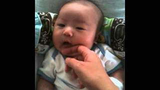 Video 58 days old - Baby Ji Sung is just so handsome... MP3, 3GP, MP4, WEBM, AVI, FLV Maret 2018