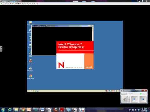 Login Demo-Novell