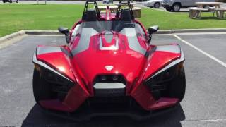 1. 2017 Slingshot SL Sunset Red Indian Motorcycle of PCB