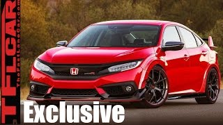 TFL Exclusive: 2018 Honda Civic Type R Interior Revealed by The Fast Lane Car