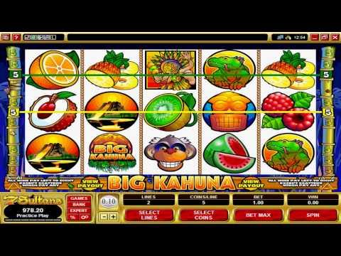 The Big Kahuna Video Slot Machine Game at 7 Sultans Casino