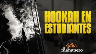 Alarmante cifra de estudiantes fumando Hookah
