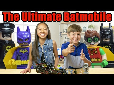 Best LEGO Batmobile Ever?- LEGO The Batman Movie - The Build Zone Season 5 Episode 7 (видео)