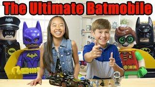 Best LEGO Batmobile Ever?- LEGO The Batman Movie - The Build Zone Season 5 Episode 7