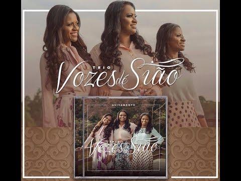 Lançamento do CD Avivamento - Trio Vozes de Sião -