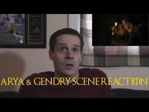 Arya & Gendry Scene Reaction Game of Thrones Season 8 Episode 2