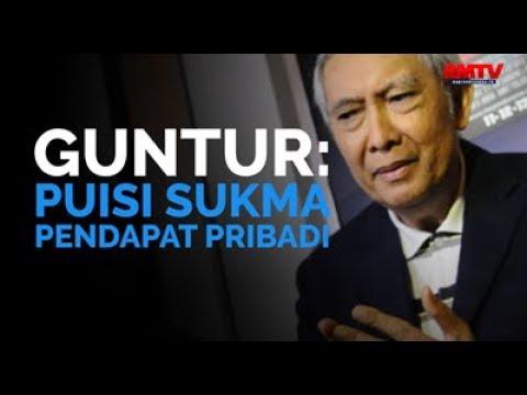 Guntur: Puisi Sukma Pendapat Pribadi!