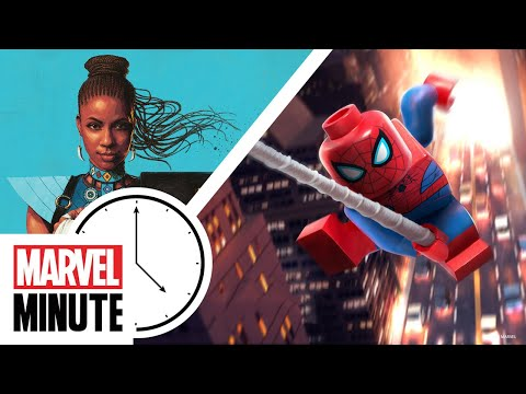 This Week On Marvel Minute: Shuri Comes To Marvel Comics! LEGO Marvel's Spider-Man!