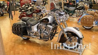 1. 2018 Indian Chief Vintage – new Bagger