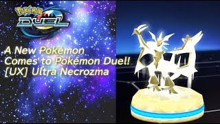 Celebrate Pokémon Duel with [UX] Ultra Necrozma and more! by The Official Pokémon Channel