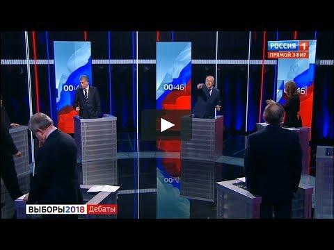 Дебаты с Владимиром Соловьевым на канале «Россия 1» (1.03.2018)