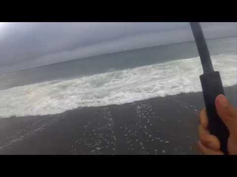 Nice Striper Surf Plugging at Pacifica – July 2014