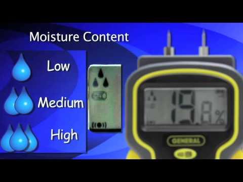 Pin Type LCD Moisture Meter