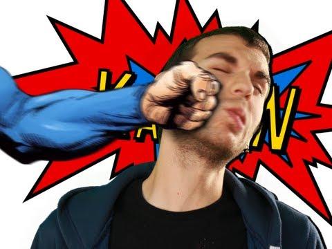 Co kdyby vás praštil Superman?