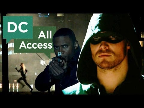 exclusive - This week, Stephen Amell, David Ramsey and Emily Bett Rickards welcome someone new to the team--Tiffany Smith! Today's all new DC All Access is all about Arr...