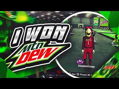 Mountain Dew WINNER! You Won't Believe What 2K Gave me - NBA 2K18 (видео)