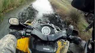 6. 2 Can-Am Outlander 500 Max XT Mudding!!