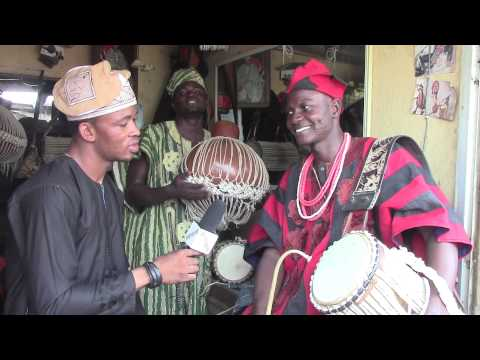 "WOW! The ""Talking Drums"" Of Nigeria !!"